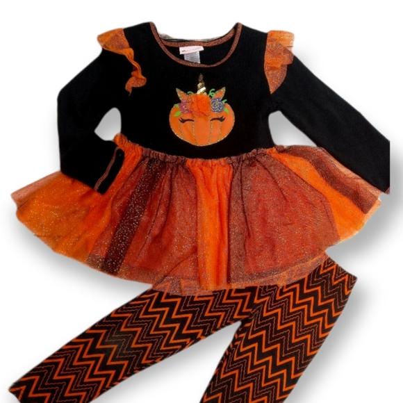 [Little Lass] Halloween Outfit Set- (Size 4T)